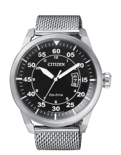 Aviator-OF Collection AW1360-55E  Orologio Uomo Acciaio  Citizen  Eco Drive 45mm