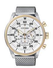 Aviator OF Collection CA4214-58A Orologio Uomo Crono  Citizen Eco Drive 45mm