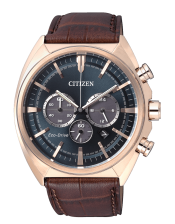 OF Collection CA4283-04L  Orologio Crono Acciaio Laminato Citizen Eco Drive 43mm