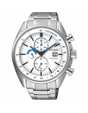 OF Collection CA0590-58A  Orologio  Acciaio Crono Citizen Eco Drive 44mm