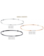 Bangle Argento Brunito-Bracciale Rigido Donna Argento 925-Elements DonnaOro-DFBF4110