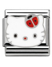 Ikons Hello Kitty Coccinella Rossa-Tessera Composable Classic-Nomination-230290 02