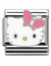 Ikons Hello Kitty Farfalla Rosa-Tessera Composable Classic-Nomination-230290 03