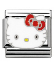 Ikons Hello Kitty Fiocco Rosso-Tessera Composable Classic-Nomination-230290 05