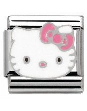 Ikons Hello Kitty Fiocco Rosa-Tessera Composable Classic-Nomination-230290 07