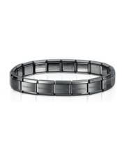 Composable Classic-Bracciale Acciaio Brunito-Nomination-030001 002