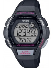 Casio Collection-Steptracker-LWS-2000H-1AVEF-Casio-Orologio Donna Quarzo Multifunzione-43,80x38,20mm