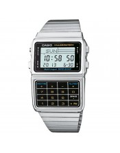 Casio Collection -Data Bank-DBC-611E-1EF-Casio-Orologio Uomo Acciaio Multifunzione Digitale Quarzo-46,50x33,10mm