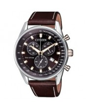 Chrono Sport OF Collection AT2396-19X  Orologio Uomo Crono Acciaio Citizen Eco Drive 40mm