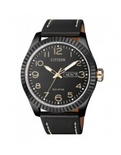 Urban-OF Collection-BM8538-10E-Orologio Uomo Acciaio Brunito Citizen- Eco Drive-42mm