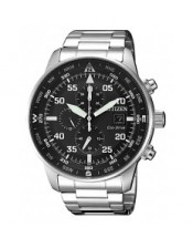 Chrono Aviator -OF Collection CA0690-88E  Orologio Uomo Acciaio Crono  Citizen  Eco Drive 44mm