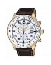 Chrono Sport Aviator OF Collection CA0693-12A  Orologio Uomo Crono Laminato PVD Citizen Eco Drive 44mm