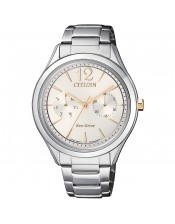 OF Lady Collection  FD4024-87A Orologio Donna Citizen Eco Drive Acciaio 35mm
