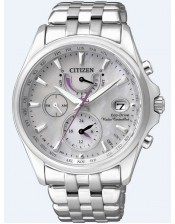 Lady Radio Controllato-FC0010-55D-Orologio Donna Acciaio Citizen-Eco Drive-39mm