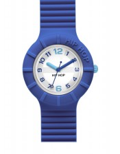 Blue & Azur HWU0463-32mm-Hip Hop Numbers-Orologio Donna/Bambino Silicone Quarzo