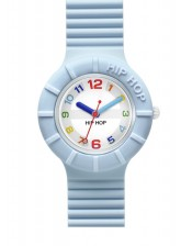 Light Blue HWU0464-Hip Hop Numbers-32mm-Orologio Donna/Bambino Silicone Quarzo