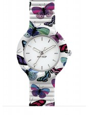 Butterfly HWU0675-32mm-Hip Hop Animals Addicted-Orologio Donna/Bambino Silicone Quarzo