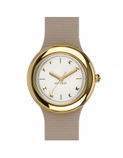 Metal Beige Gold -HWU0720-Hip Hop -Orologio Donna/Bambina-Quarzo-32mm