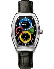 Régulateur Limited Edition/Firshire 3000-52x37mm-Paul Picot-Orologio Uomo Regolatore Acciaio Automatico-P0740.SG.3003
