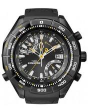 E-Altimeter /Expedition-T49795-Timex-Orologio Uomo Acciaio Altimetro Quarzo-50mm