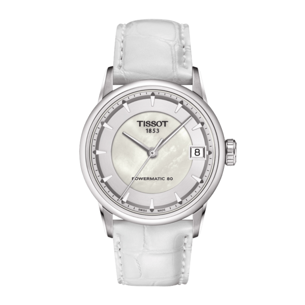 Powermatic 80 Luxury Automatic/T-Classic-33mm-Tissot-Orologio Donna Acciaio Automatico-T086.207.16.111.00-T0862071611100