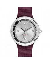 Metal Burgundy -HWU0834- Hip Hop-Orologio Donna/Bambina-Quarzo- 32mm