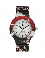 Hip Hop I Love Japan-HWU0861 -Orologio Donna Silicone Quarzo - 32mm