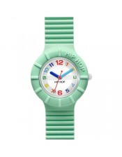 Light Green- HWU0465-Hip Hop Numbers-Orologio Donna/Bambino Silicone Quarzo-32mm